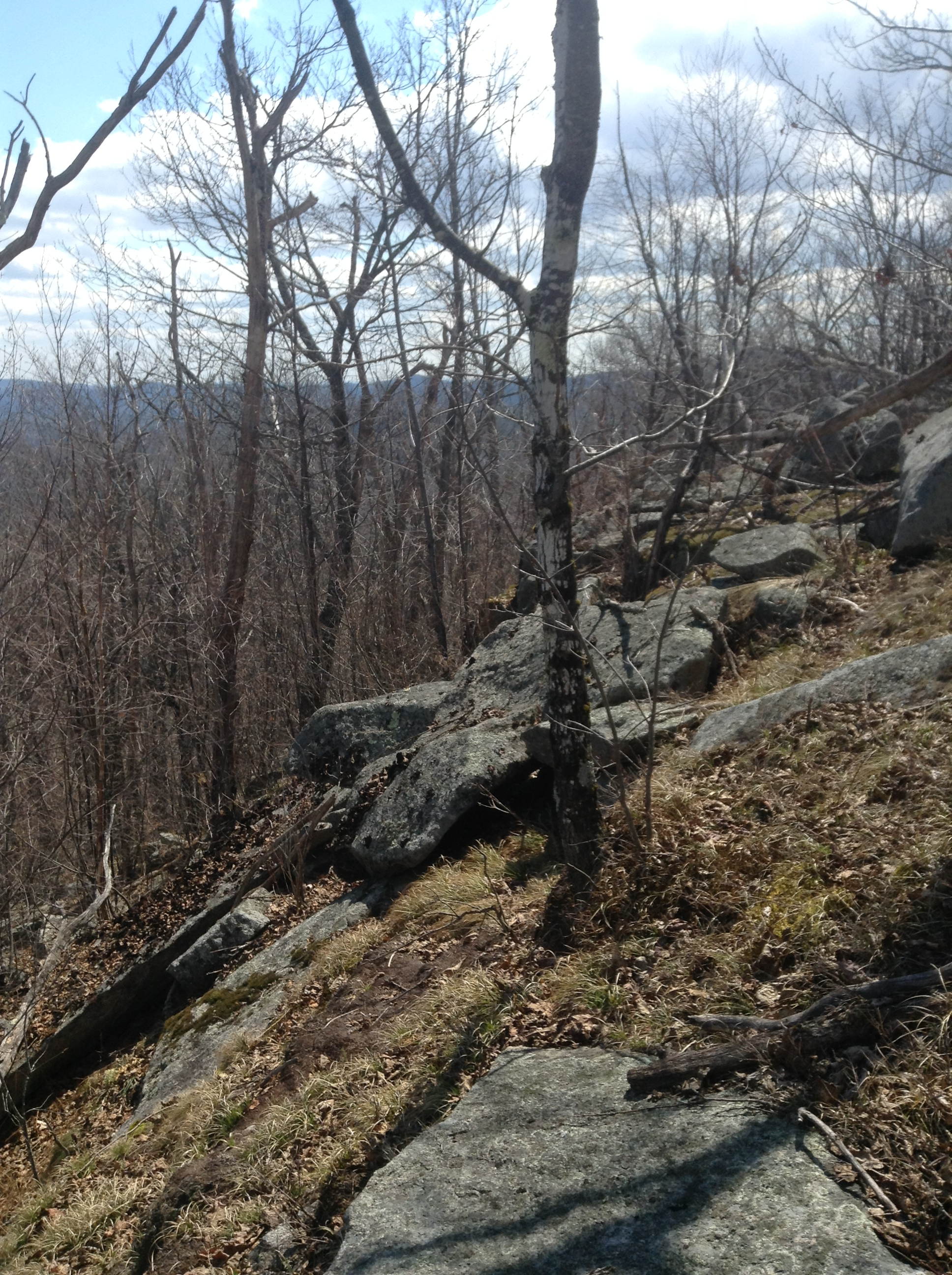 Swett Mtn rock fall grade reference
